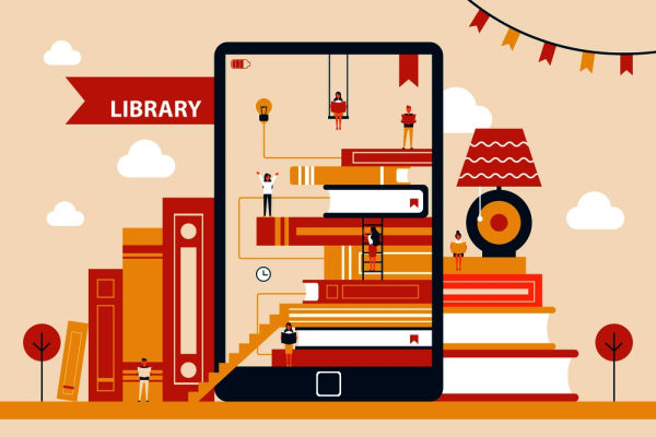 بازاریابی و برندسازی کتابخانه